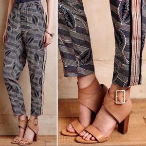 Anthro Hei Hei | Lourinha Tuxedo Stripe Pants Sz S